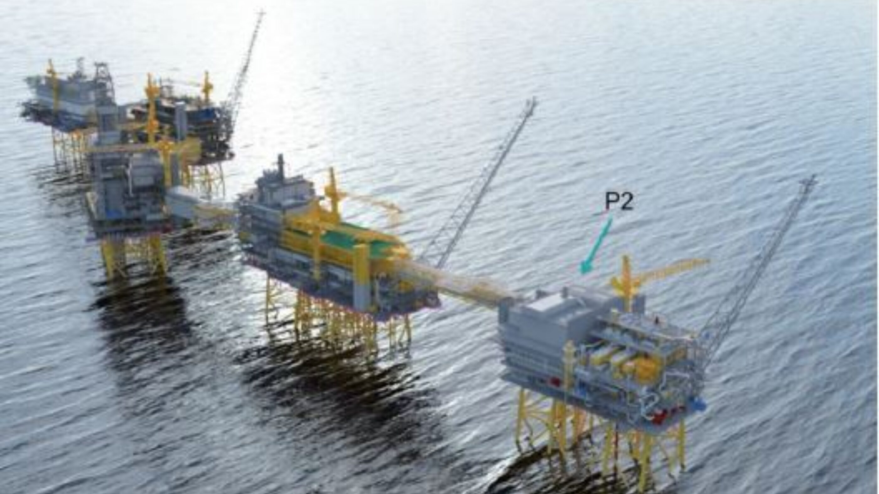 Johan Sverdrup full project sea view incl P2 top view